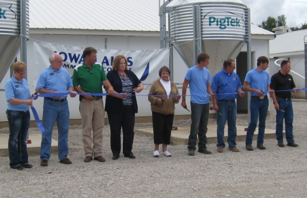 Swine Training Facility Opened By ILCC