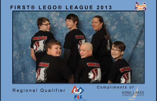 Spirit Lake Team Wins Lego Competition